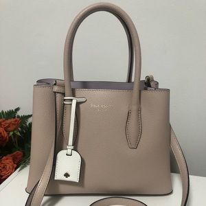 Kate Spade Eva Small Leather Satchel Bag